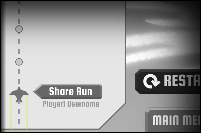 Share Run Button