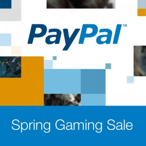 Paypal Spring Gaming Sale